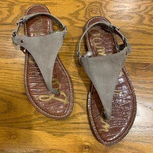 Sam Edelman 'GRETA' Suede Sandals Size 8.5